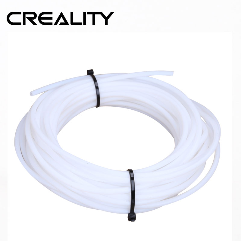 1M Lot CREALITY 3D PTFE Tube PiPe for J-head hotend Bowden Extrude 1 75mm filament ID 2mm OD 4mm For 3D printe Part
