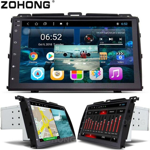2 din 9 インチ PIP オクタ 8 コアの Android 車の DVD トヨタプラド 120 用レクサス GX470 車ラジオ GPS ナビゲーション BT WIFI ステレオ