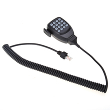 Micrófono Altavoz con DTMF Micrófono de mano 16 Tecla con 8 pin conector para Kenwood TK-686 RJ 780 862 863G Coche Radio