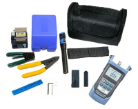 10 In 1 FTTH Fiber Optic Tool Kit With FC 6S Fiber Cleaver And Optical Power