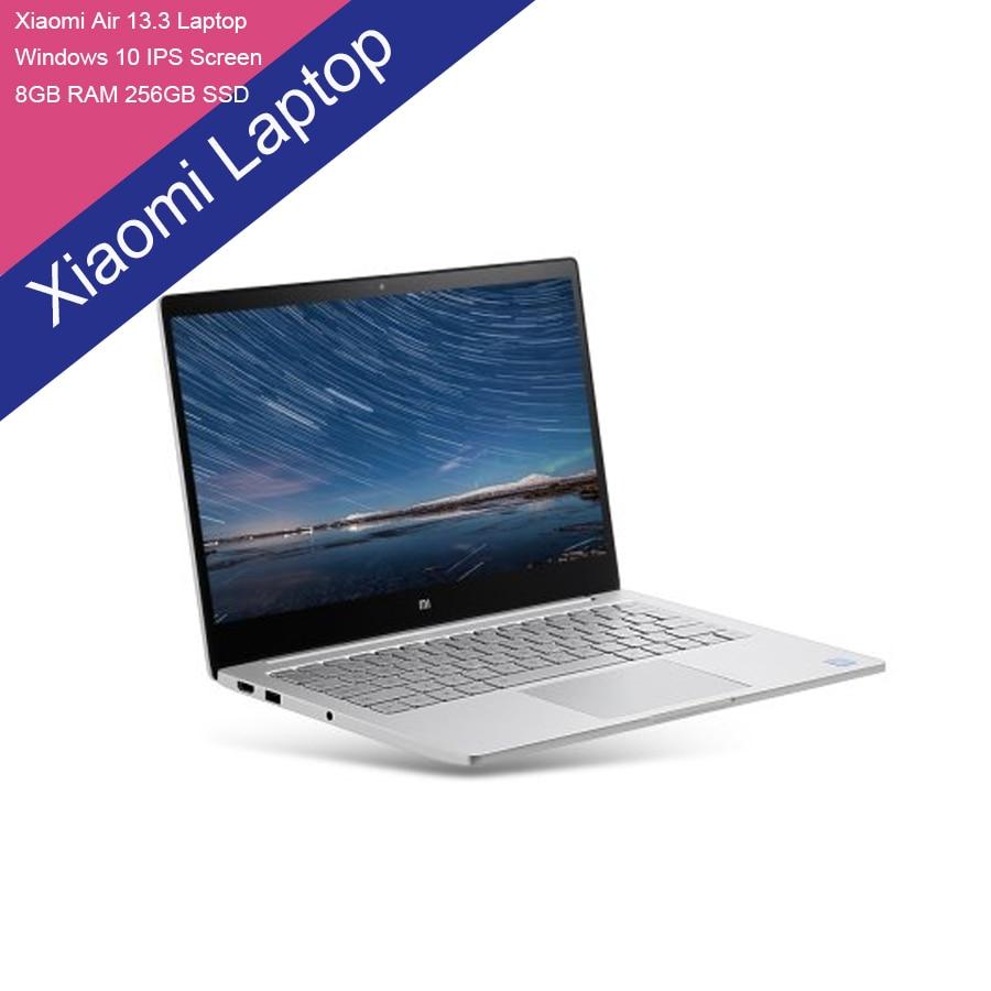 Xiaomi Air 13 Laptop Windows 10 13.3 inch IPS Screen Intel Core i5-6200u Dual Core 2.3GHz 8GB RAM 256GB SSD In Stock