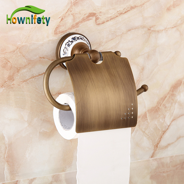 Euro Style Antique Brass bathroom Toilet Tissue Holder Wall Mount ...