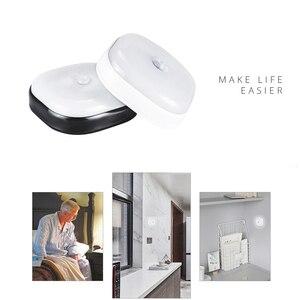 Image 4 - 10LEDs Night Light Infrared PIR Motion Sensor Wireless Light for bedroom Wall Lamp Auto On/Off LED night light