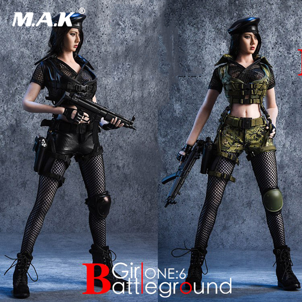 18XG13A/B 1/6 Scale Female Clothes Set Battlefield Girl Clothing & Accessories Set Model for 12
