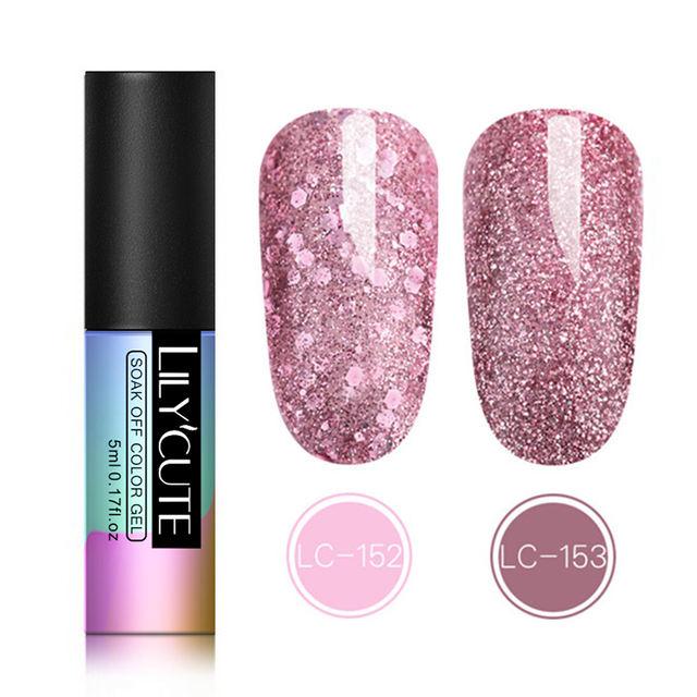 LILYCUTE Glitter UV Gel