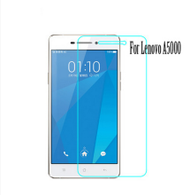 0.3mm 9H tempered glass For Lenovo A5000 screen protector protective guard film front case cover +clean kits
