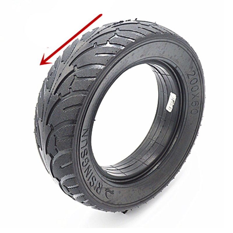 Electric Scooter Car Dualtron Raptor Tire Tyre 8 Inches 200X60 Scooter Solid Tire Brushless Motor Non Pneumatic for Skateboard