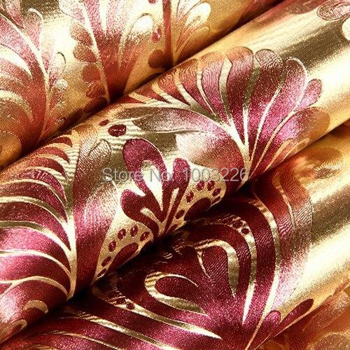 online kaufen gro handel gold metallic tapete aus china gold metallic tapete gro h ndler. Black Bedroom Furniture Sets. Home Design Ideas