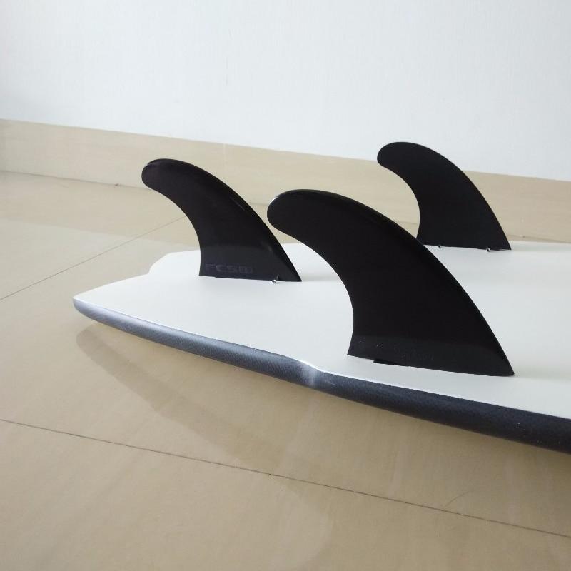 Surfing Płetwy FCS G5 Czarny Pure Color Plastikowa deska surfingowa - Sporty wodne - Zdjęcie 3