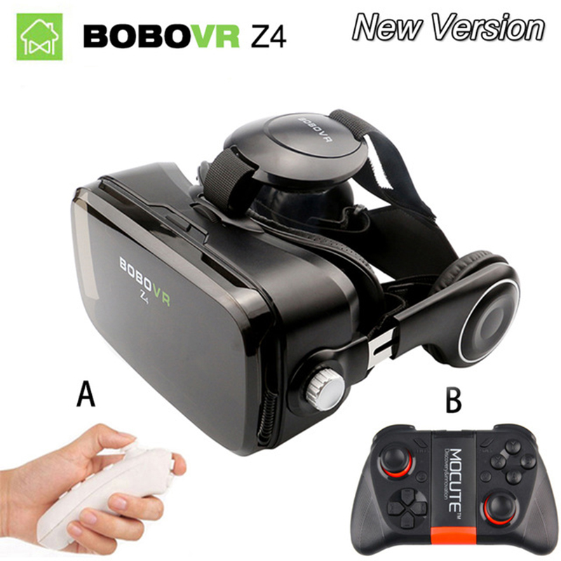 Bobovr Z4 mini VR Box Virtual Reality glasses virtual reality gafas goggles google cardboard headset For Smartphone Smart Phone xiaozhai z3 bobovr vr box 3d vr virtual reality headset