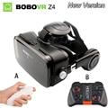 Gafas de realidad virtual 3d vidrios originales bobovr z4 bobo caja google cartón vr vr 2.0 gafas con gamepad para smartphones