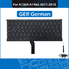 New A1466 GER German Keyboard for Macbook Air 13″ A1369 A1466 DE Keyboard + Backlight Replacement 2011 2012 2013 2014 2015 Year