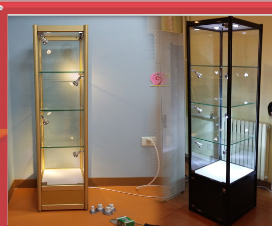 Attractive Glass Wall Stand Cabients Customzied/display Store Glass Wall Case /office  Furniture /display