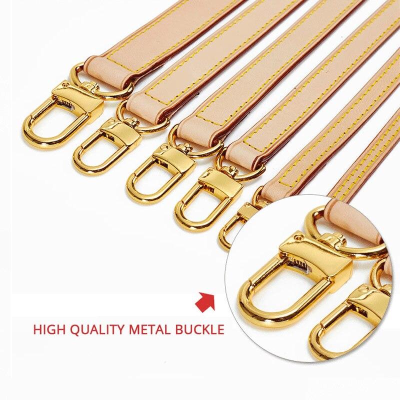 BAMADER Brand High Quality Solid Color Genuine Leather Shoulder Strap Luxury Fashion Bag Strap Shoulder Messenger Bag Accessor
