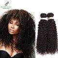 Дешевые Beau Diva 3 Пучки Малазийский Странный Вьющиеся Волосы 7А Необработанные Девственные Волосы Вьющиеся Переплетения Человеческих Волос Малайзии Волос Девы