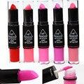 Fashion Women's Sex (12 Colors choose)  Lip gloss Waterproof Lasting Beauty Makeup Double LipStick Lip Pencil Lip Stick Lipgloss