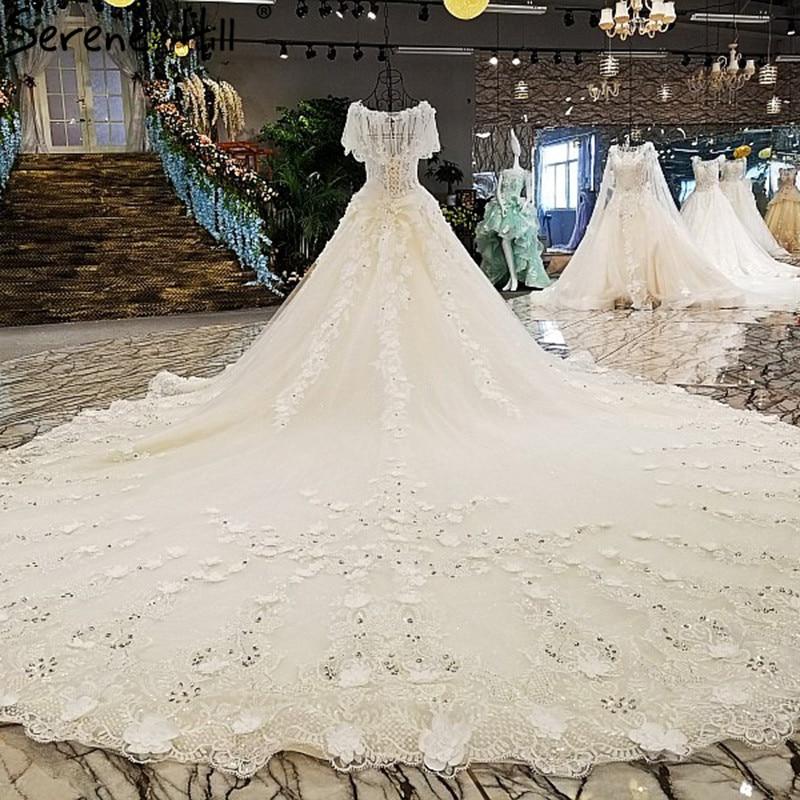 Brautkleid Vintage Lace Flower High end Wedding Dresses Diamond ...