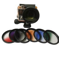 Graduated Filter graduated ND filter for Eken H9 H9R H8PRO H8SE H8 H8R H3 H3R V8S Eken Action Camera Accessories