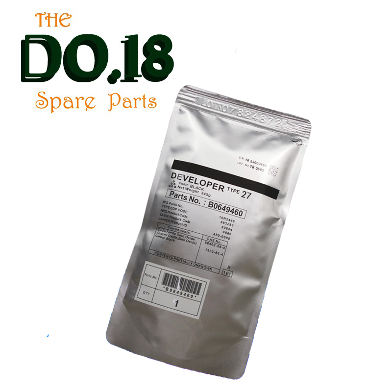 High quality 1250G type 27 Developer Powder For Ricoh MP9000 MP1100 MP1350 Developer Photocopy machine B2349640 share 1original transfer belt b234 3971 b2343971 for ricoh mp 1350 9000 1100 gestetner dsm mp1100 mp1350 mp9000 dsm7135