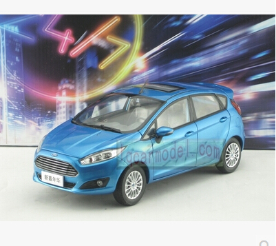 New Ford Fiesta 2013 alloy origin car model 1:18 gift Toy Limited Collection Kids blue Classic cars Sedan 2015 new ford taurus 1 18 original alloy car models changan ford kids toy beautiful box gift boy limit collection silver