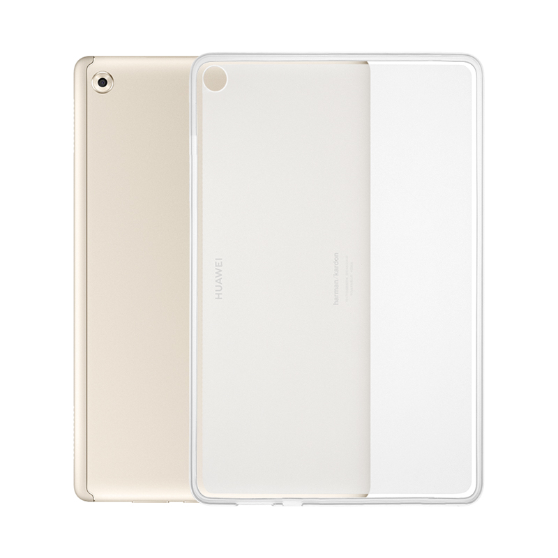 Clear Soft Tpu Case For Huawei Mediapad M5 Lite 10 Case Silicon Bah2-l09 Bah2-w19 Bah2-al09 Tablet Bags 10.1 Inch Back Cover Tablet Accessories