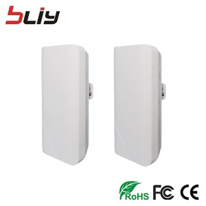 Image 2 - 1pair 900Mbps Wireless CPE Outdoor 2KM point to point Wireless Bridge Router Wifi Repeater 2.4Ghz long range CPE Bridge