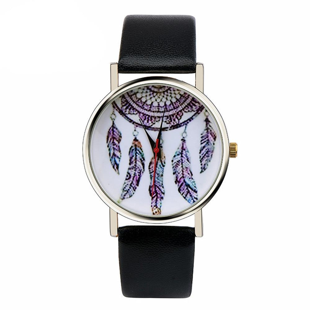 Women Fashion Dreamcatcher Watch Ladies Quarzt Watches relogio feminino  Relogios Masculinos Z509 5Down 8 dreamcatcher quarzt relogio feminino aw sb 1466