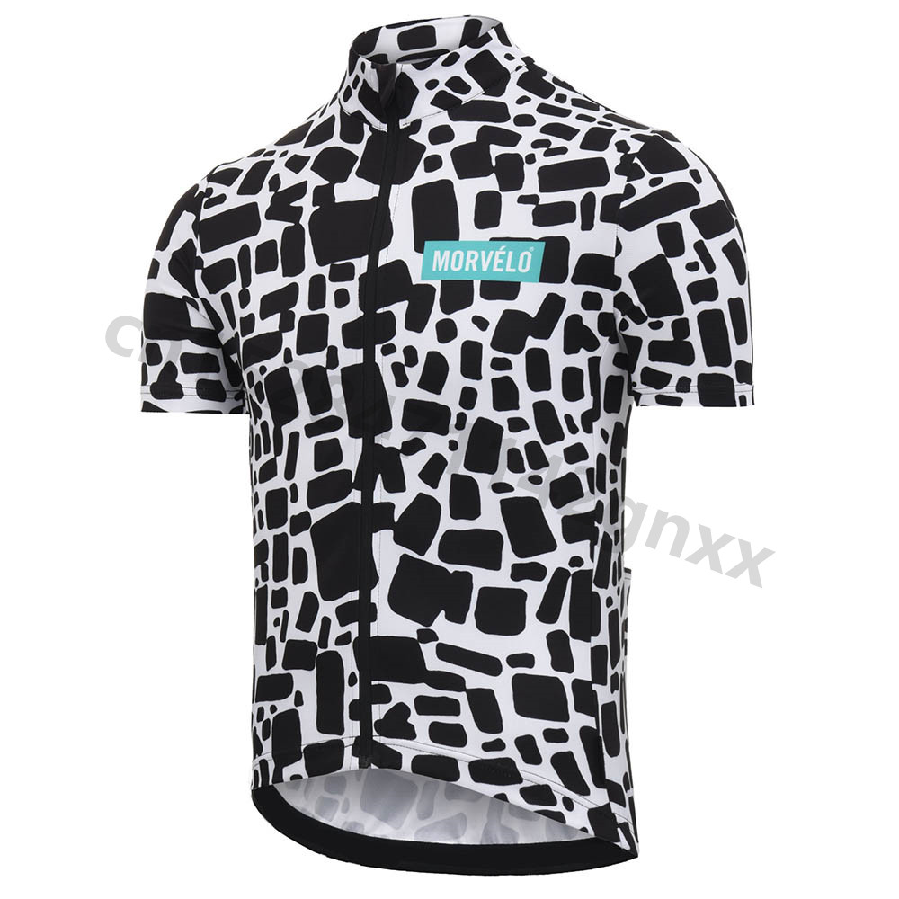 2019 Morvelo Outdoor Sport Cycling Jersey Mens Short Sleeve Bike Clothing Maillot Ropa Ciclismo Quick Dry MTB Bicycle Jerseys in Cycling Jerseys from Sports Entertainment