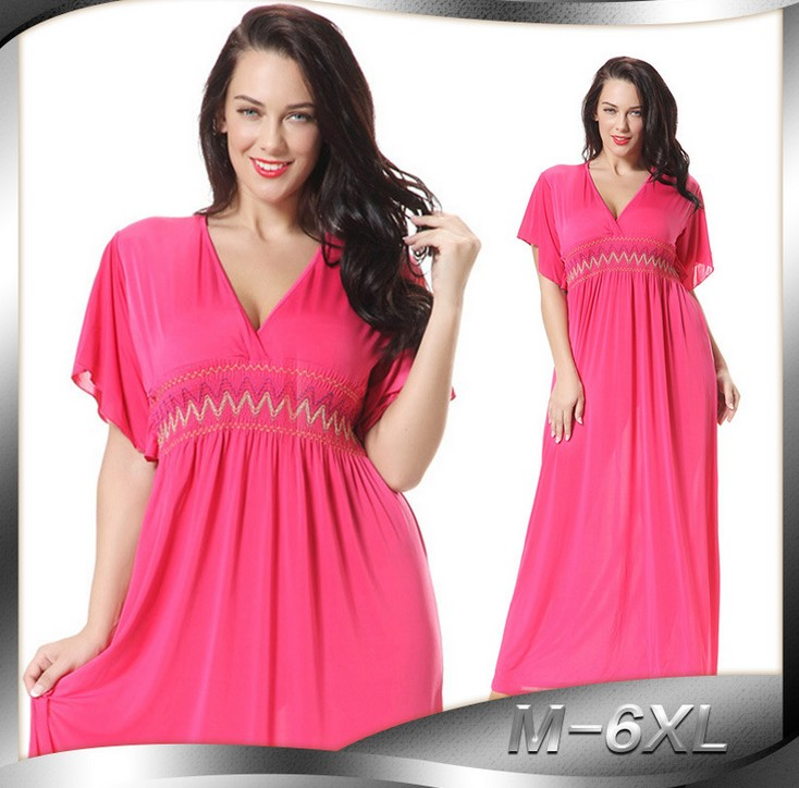 women sexy plus size dress vestido casual solid bohemian maxi dress font b robe b font