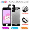 Top LCD For IPhone 5 5C 5S Touch Screen Digitizer Replacement AAA Quality Home Button Front