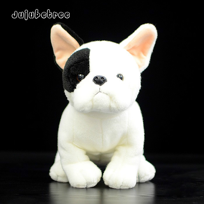 Simulation French Bulldog plush toy dog stuffed dolls kids gift