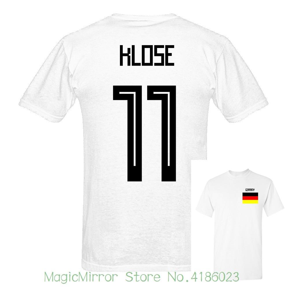 GERMANY RETRO MIROSLAV KLOSE NUMBER 11 TEE-SHIRT SIZE MEN/'S XXL BRAND NEW