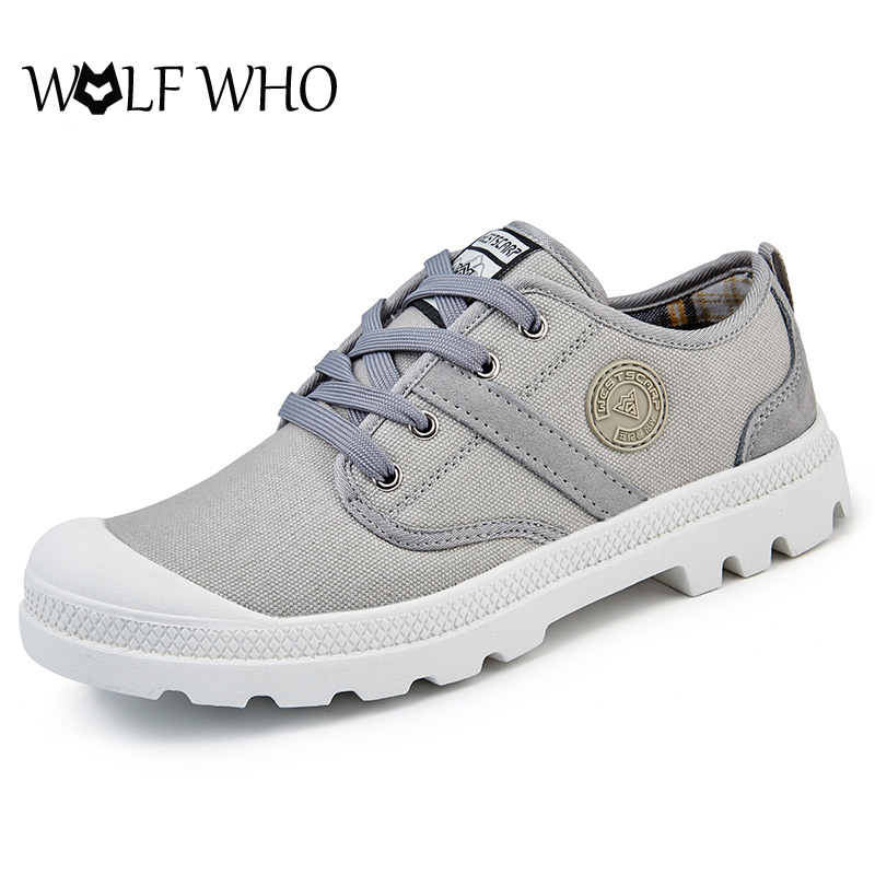 WOLF WHO Heels Shoes Low Top Canvas Women Shoes Zapatillas Mujer Espadrilles Lace Up Casual Shoes for Female Student Zapatos e lov women casual walking shoes graffiti aries horoscope canvas shoe low top flat oxford shoes for couples lovers