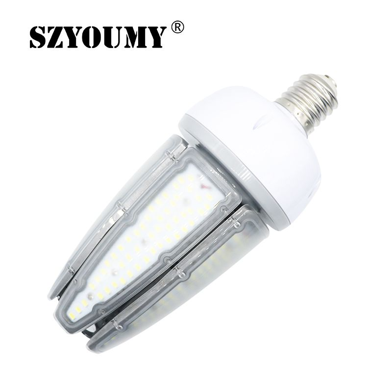 SZYOUMY 80W 100W 120W E27 E40 Waterproof LED Corn Street Light 360 Degree Beam Angle SMD 5730 Led Chips AC 85-265V Corn Lamp zhishunjia gu10 9w 630lm 6000k 48 smd 5050 led white light corn lamp white ac 85 265v