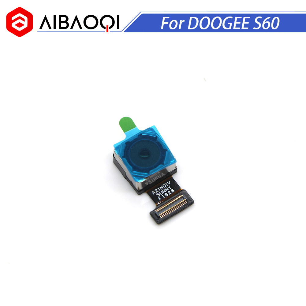 AiBaoQi High Quality New Original Doogee S60 21 0MP rear camera repair parts replacement for Doogee