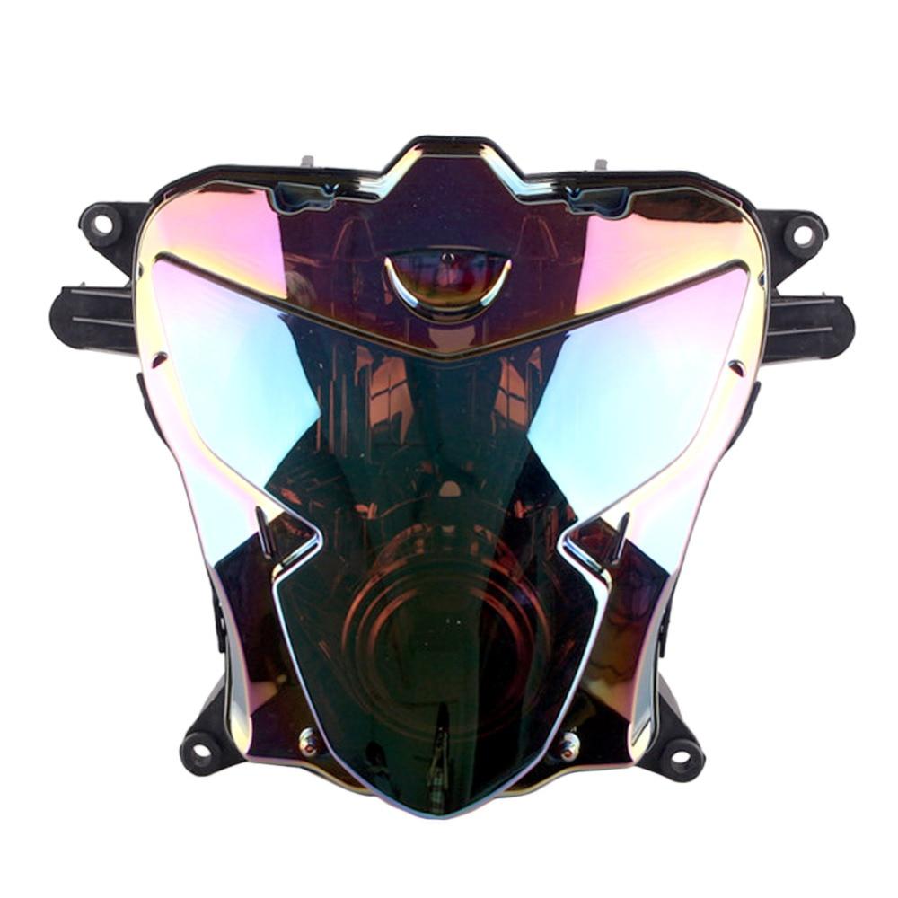 For Suzuki GSXR 600 750 K4 Headlamp Headlight 2004 2005 04 05 GSXR600 GSXR750 Front Motorcycle Head Light Lamp Parts Accessories inner fairing part for suzuki gsxr 600 750 k4 k5 right side panel gsxr600 gsxr750 2004 2005 year cd63