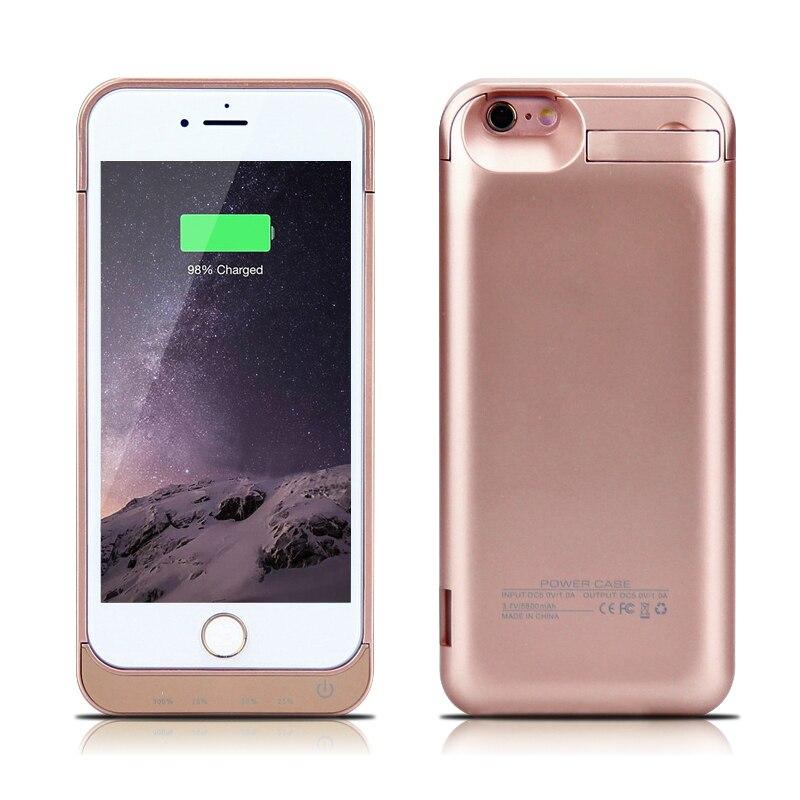 bilder für GagaKing ABS 5800 mah energienbank für Iphone 6 6 s batterie fall schnellladegerät reisen energienbank für iphone6 6 s fall backup fall