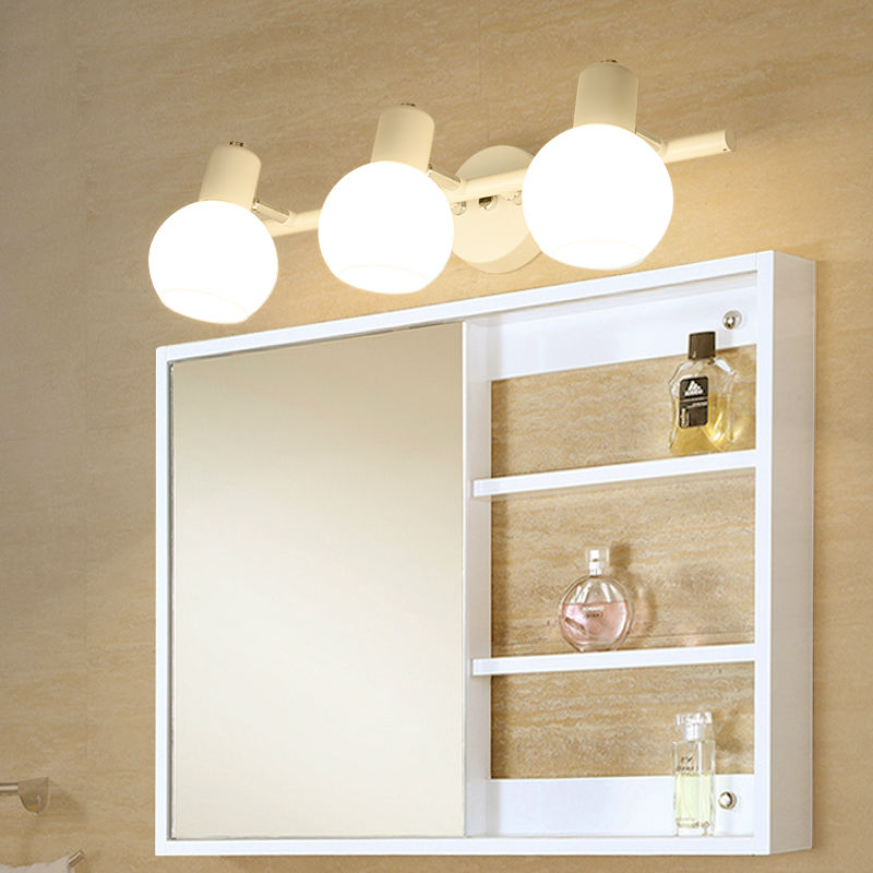 bathroom mirror wall lights led glass bathroom mirror wall lamp modern loft style 16258