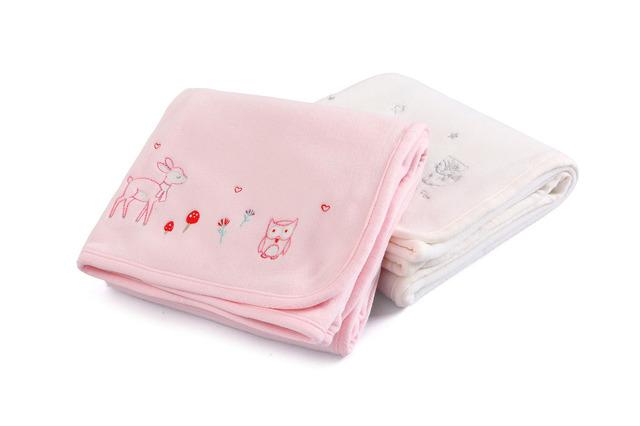 Baño del bebé 100% Algodón 80x72 cm Toalla de la Historieta Toalla de Baño Del Bebé Recién Nacido Algodón Textil de Algodón Engrosada Bebé Toallita 2 Colores
