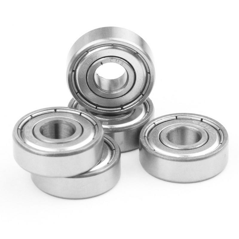 10 PCS 608ZZ Bearing 8x22x7mm ABEC-7 Skate Stroller Miniature 608 ZZ Ball Bearings 608Z 608 2Z Bearing Skateboard Accessories