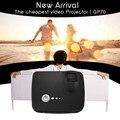 Mini GP70 Mini Proyector LLEVADO Portable 800x600 1200 Lúmenes HDMI VGA AV USB SD TV de Audio vídeo L3FE