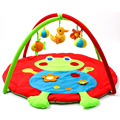 Fun Frog Cartoon Soft Baby Play Mats 0-12 Months Baby Toy Crawling Pad Kids Game Play Gym Blanket