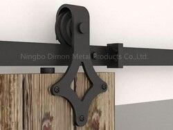 Dimon индивидуальные раздвижные двери, оборудование для деревянных раздвижных дверей, подвесное колесо в американском стиле, раздвижные двер...
