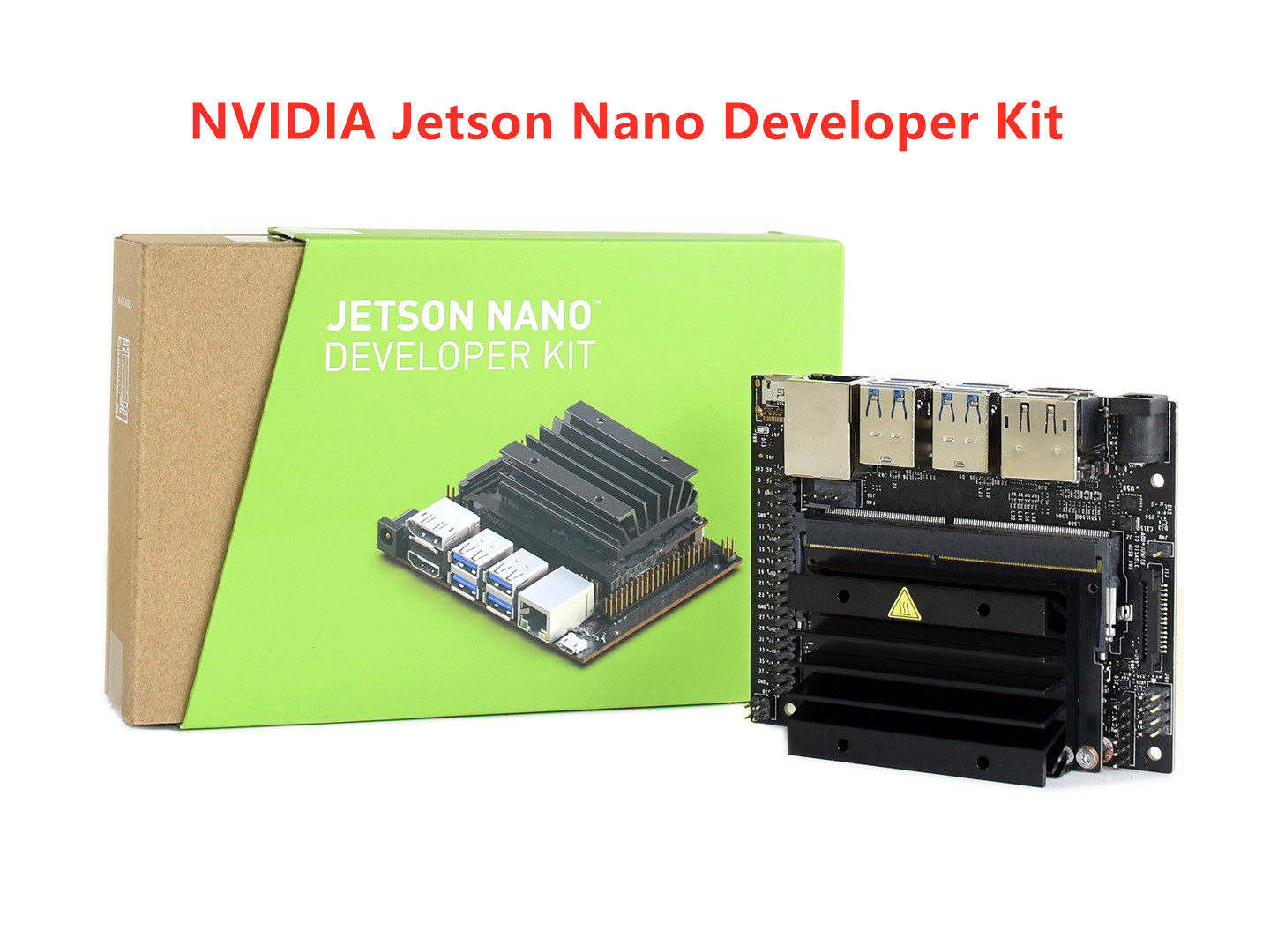 NVIDIA Jetson Nano Developer Kit Small AI Computer 128 core Maxwell GPU quad core ARM Cortex