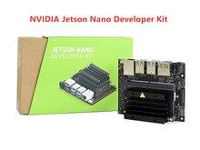 NVIDIA Jetson Nano Developer Kit маленький AI компьютер 128 ядер Maxwell GPU четырехъядерный процессор ARM Cortex A57 4 Гб 64 разрядный LPDDR4
