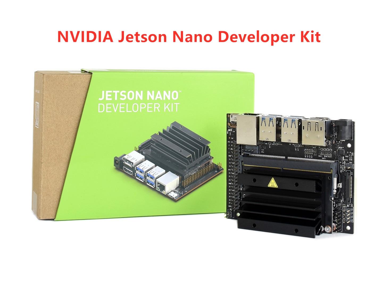 NVIDIA Jetson Nano Developer Kit Small AI Computer 128 core Maxwell GPU quad core ARM Cortex A57 CPU 4GB 64 bit LPDDR4-in Demo Board from Computer & Office