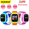 NAIKU Q90 GPS Phone Positioning Fashion Children Watch 1 22 Inch Color Touch Screen WIFI SOS