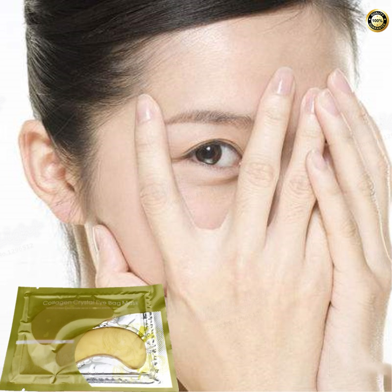 Gold collagen First Eye Patch 2pcs Korea cosmetic eye mask eye cream