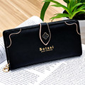 2016 New Fashion Women Wallets purses Ladies Nubuck Leather Zipper Hasp Clutch Wallet Female Long Purse Card Holder Portefeuille
