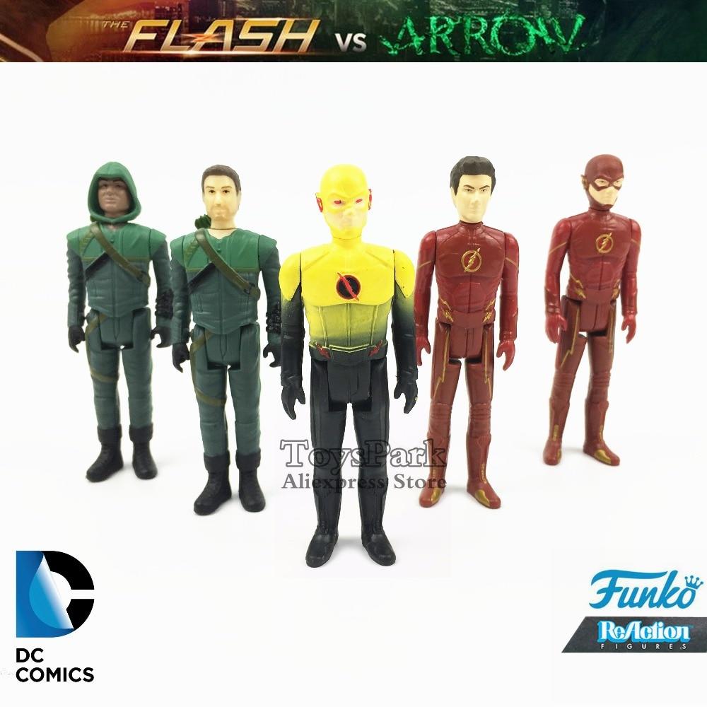 Funko Reaction The Flash 3 3//4 TV Series Action Figure DC Comics